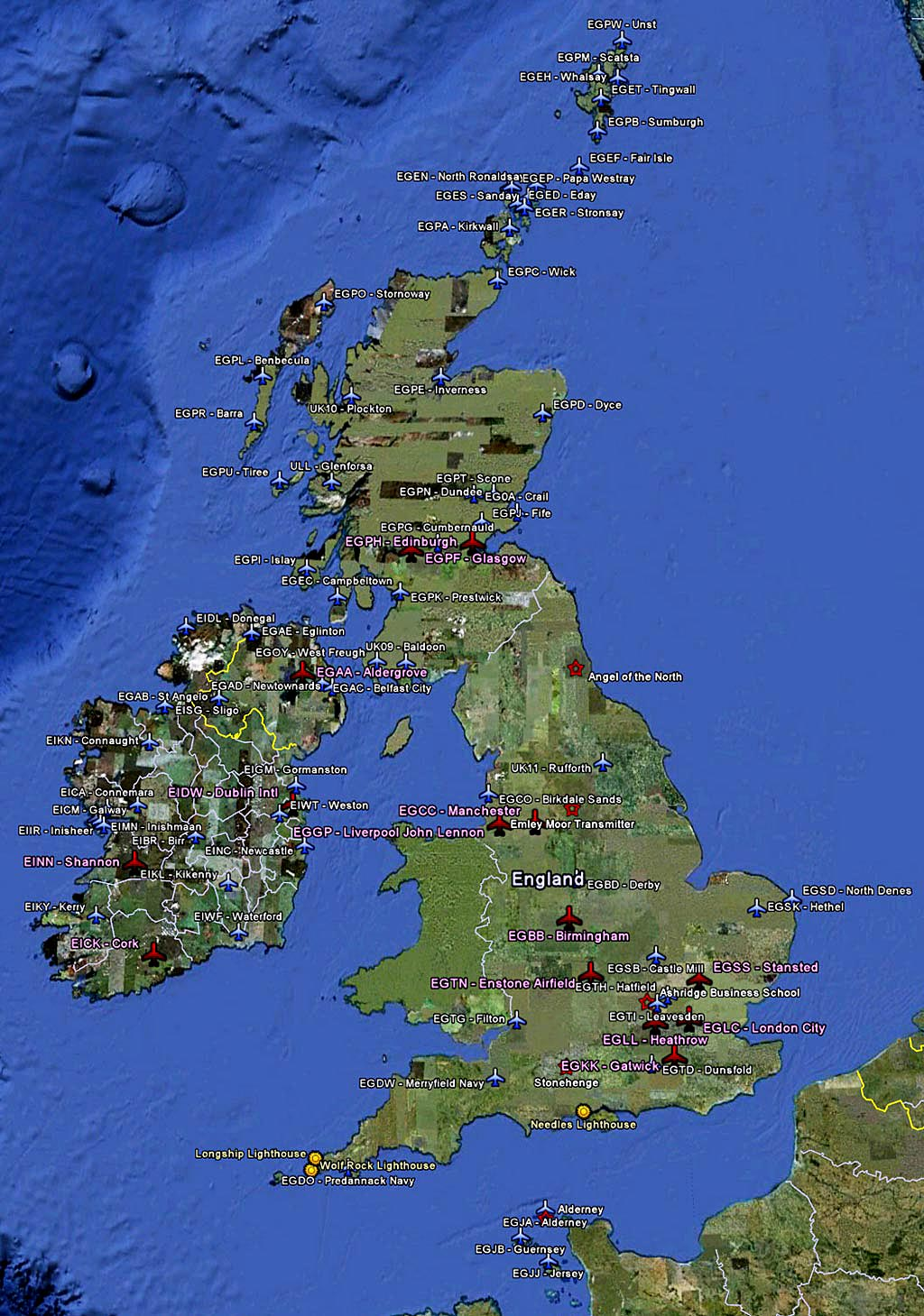 119 maps uk ireland airports fsx times here is the map for airports in the uk and ireland gumiabroncs Image collections