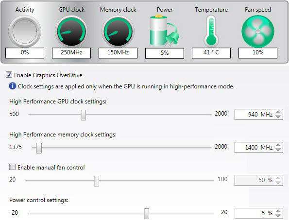 130: Radeon Settings for HD6970 – FSX TIMES