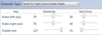 Rudder-P3D
