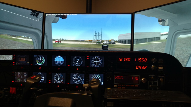 Cockpit: Thomas Campbell (KCAE, USA) – FSX TIMES